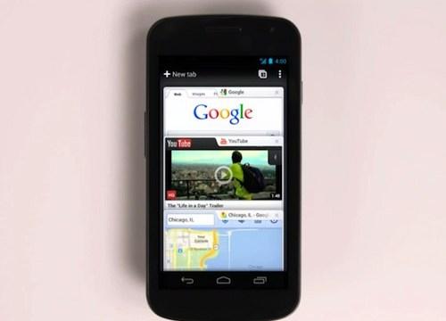 Google Chrome ลง Android (ซะที)