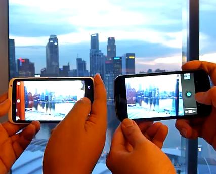 ท้าชน! One X vs Xperia S vs Galaxy Nexus ใครคือจ้าวแห่งความไวชัตเตอร์