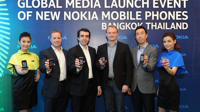 Nokia เผยโฉม Asha Touch ฟีเจอร์โฟนสุดฉลาด เร่งเครื่องสู่โมบายอินเตอร์เน็ต