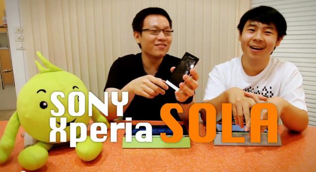 Power ON #021 : Sony Xperia sola
