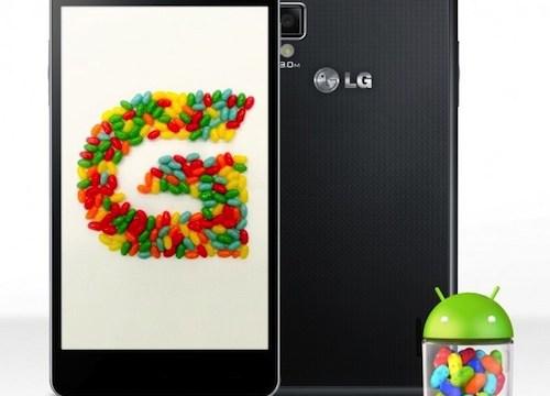 แผนการอัพเดท Jelly Bean ของ LG ในเร็วๆนี้