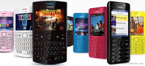 "Nokia เปิดตัว Asha 205 / 206 Facebook Phone รุ่นล่าสุดและลูกเล่นใหม่ ""Slam"""