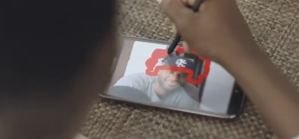 หนึ่งวันของ NBA Superstar Lebron James และ Galaxy Note 2