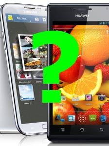 Huawei เตรียมปล่อยคู่แข่ง Galaxy Note II