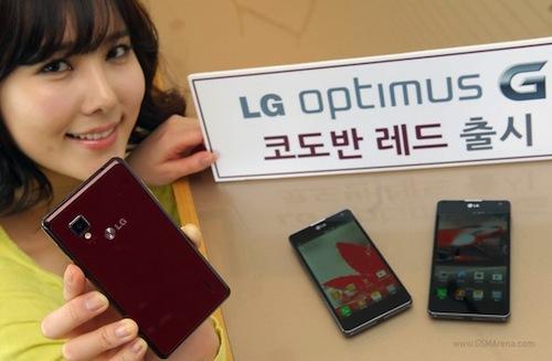 LG Optimus G ขายผ่านหลักล้านเรียบร้อย
