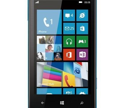 Huawei เปิดตัว Ascend W1 Windows Phone 8 ตัวแรกของบริษัทอย่างเป็นทางการแล้ว