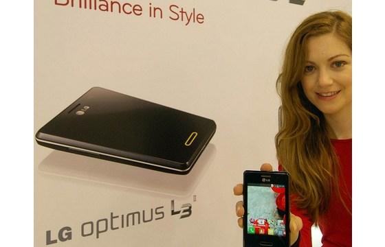 LG Optimus L3 II เตรียมวางขายที่ประเทศบราซิลที่แรกของโลกสัปดาห์หน้า
