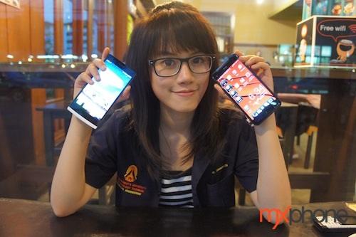 ศึกผีเสื้อชนมังกร HTC Butterfly ชน OPPO Find 5