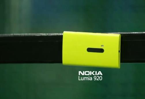 Smartphone แกร่งแข่งอึดกับ Nokia Lumia 920