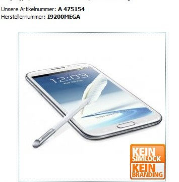 ยังไม่ทันเปิดตัว Samsung Galaxy Mega 6.3 มีเปิดให้จองเฉย!