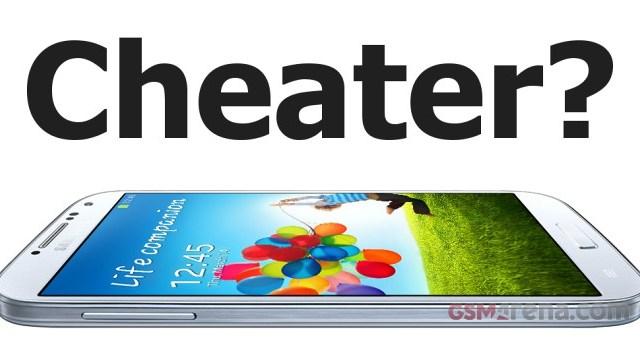 ฉาวอีกแล้ว… ตรวจพบโค้ดปริศนาช่วย Galaxy S4 ปั่นคะแนน Benchmarks?