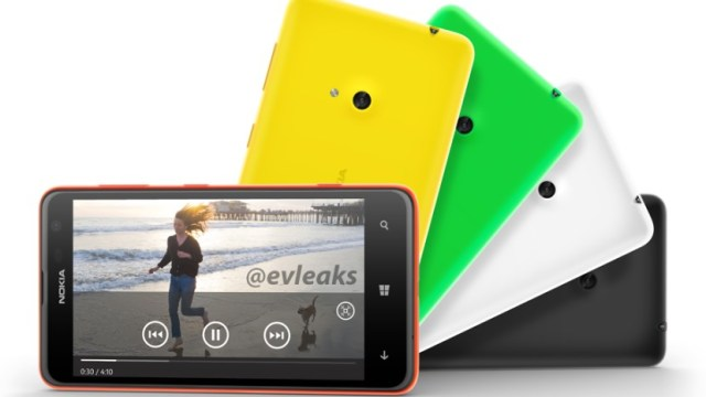 หลุดเบาๆ ก่อนเปิดตัว Nokia LUMIA 625 น้องเล็กแต่จอใหญ่ 4.7 นิ้ว