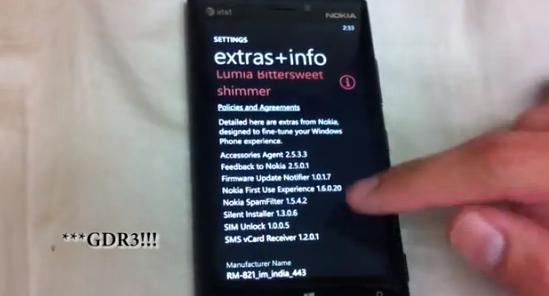 โผล่เฉย! WP8 GDR3 บน Nokia Lumia 920 Dev Edition…