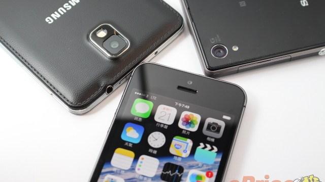 ที่สุดของกล้องมือถือชั่วโมงนี้มาเจอกัน iPhone 5s / Galaxy Note 3 / XPERIA Z1