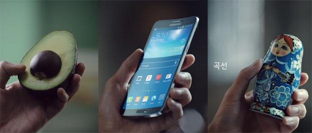 Samsung ออกโฆษณา TV เปรียบเทียบ Galaxy Round กับ…