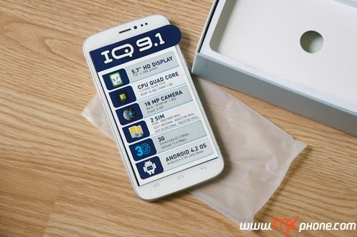 [Preview] i-mobile IQ 9.1 พี่บิ๊กหน้าใหม่ หัวใจสองซิม ขุมกำลัง Quad Core!!