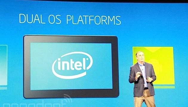 Intel เปิดตัวระบบใหม่ Dual OS Platform รันทั้ง Android และ Windows ได้บนอุปกรณ์ตัวเดียว