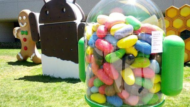 โทรศัพท์กว่า 59.1% ใช้ Jelly Bean แล้ว ส่วน Kit Kat กำลังเริ่มมา