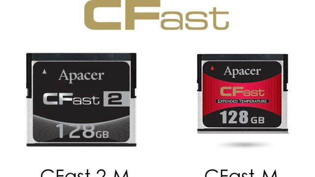 Apacer โชว์ล้ำ เปิดตัว CFast 2.0 เมมโมรี่การ์ดความเร็วสูง SATA 3.0 (6Gb/s) เกรดอุตสาหกรรม