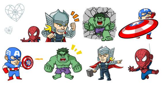 WeChat ยกทัพ Marvel Super Heroมาปล่อยพลังบนมือถือแล้ววันนี้