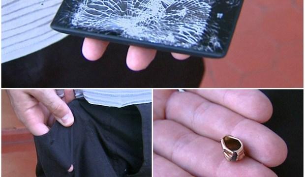 ไอ้เพื่อนยาก Nokia Lumia 520 รับกระสุนปืนแทน เครื่องพังคนรอดหวุดหวิด