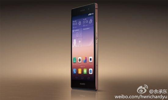 Huawei เปิดตัวโทรศัพท์ Ascend P7 รุ่นพิเศษกระจก Sapphire อย่างเป็นทางการ!!
