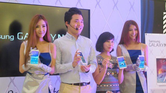 Samsung Galaxy Note 4 เครื่องจริงมาถึงเมืองไทยแล้ว แต่เป็นรุ่น CPU Exynos แต่ก็ยังรองรับ 4G