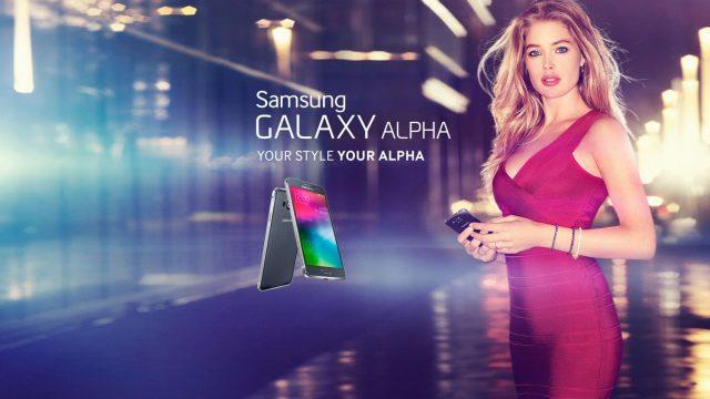 Samsung ดึงตัวนางแบบแถวหน้าของยุโรปร่วมโปรโมต Galaxy Alpha