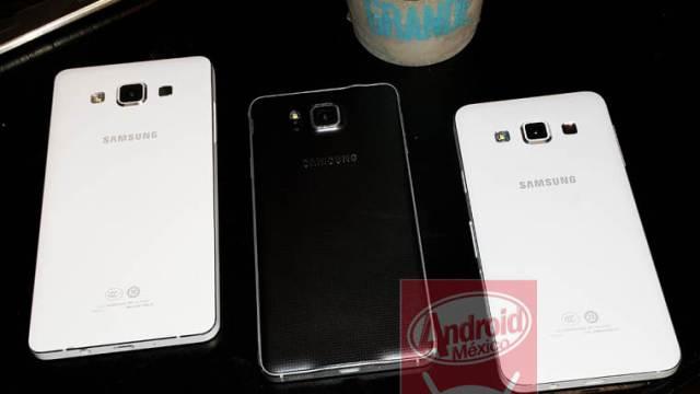 ข้อมูลล่าสุดน้องใหม่ตระกูล Alpha กับ Galaxy Alpha A5 และ Galaxy Alpha A7