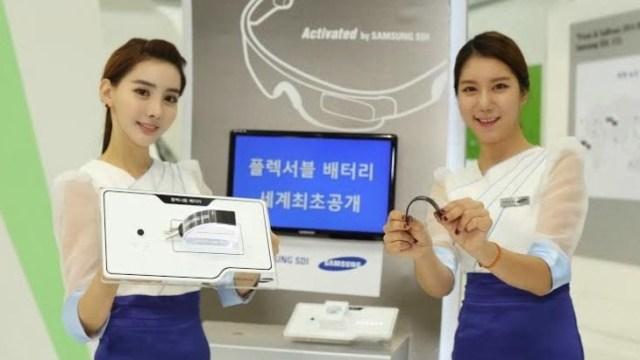 Samsung โชว์เทคโนโลยีใหม่แบตเตอรี่ยืดหยุ่น หัก งอ หรือม้วนได้