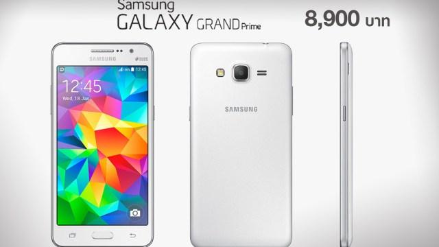แด่สาวกเซลฟี่ Samsung Galaxy Grand Prime (G530) เตรียมขายในไทย 8,900 บาท ภายในสองสัปดาห์นี้!!