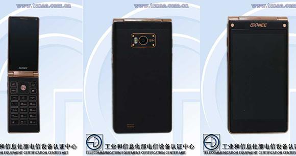 มือถือฝาพับกำลังจะกลับมา กับ Gionee W900 สมาร์ทโฟน 2 จอ แบบ Full HD
