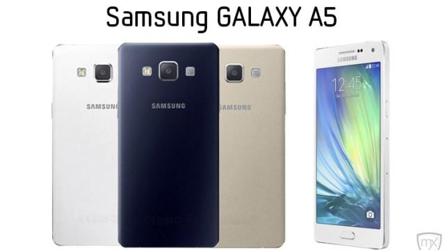 Samsung Galaxy A5 เผยโฉมในไทยแล้ว เตรียมขายมกราคมปีหน้า 3 สี (ขาว/ดำ/ทอง)