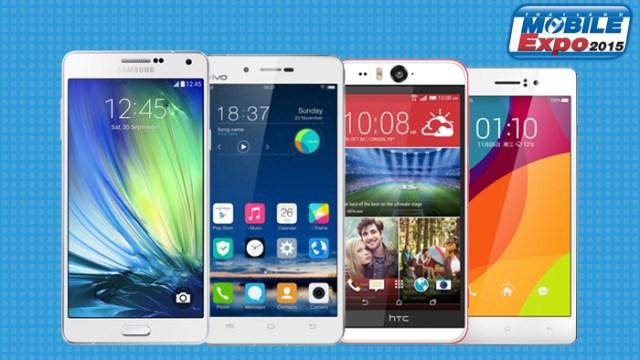 [TME 2015] เทียบ 4 สมาร์ทโฟนหน้าจอ Full HD ราคาหมื่นกลางน่าเล่นในงาน Thailand Mobile Expo 2015