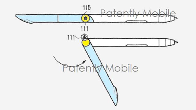 น่าสนใจ! Samsung จดสิทธิบัตร S Pen พับเป็นขาตั้งมือถือได้