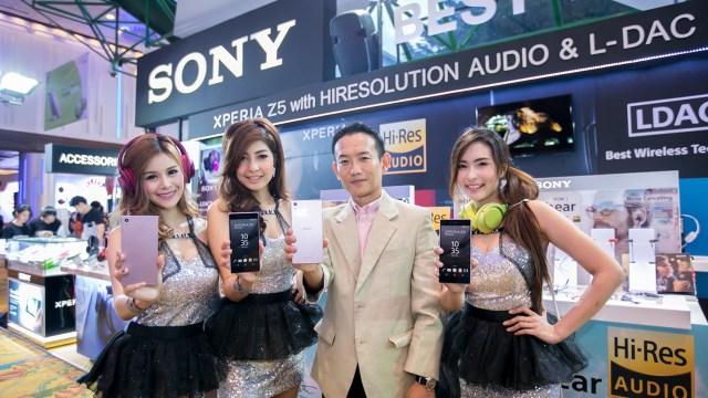 Sony เปิดตัว Xperia™ Z5 Premium Rose Gold พร้อมโปรฯงามๆ ที่ Thailand Mobile Expo 2016