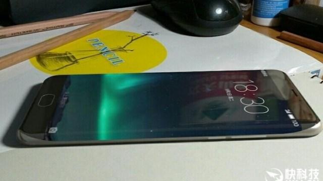 หลุดภาพสมาร์ทโฟนจอขอบโค้งของ Meizu คาดเปิดตัวครึ่งปีหลัง