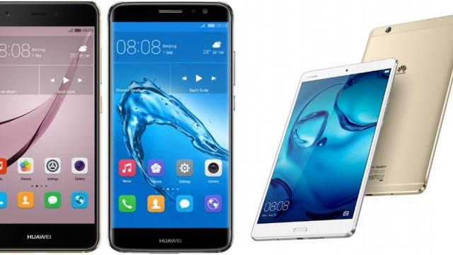 Huawei จัดชุดใหญ่ เปิดตัว สมาร์ทโฟน Nova/Nova Plus พร้อมแท็บเล็ต MediaPad M3