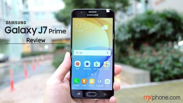 [Review] Samsung Galaxy J7 Prime บอดี้โลหะ กระจก 2.5D มีสแกนลายนิ้วมือไม่ถึงหมื่น!