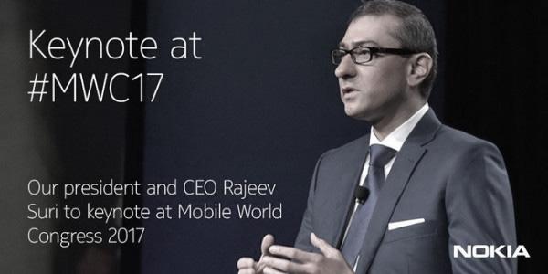 คืนสังเวียน Nokia ประกาศตัวเตรียมงานแถลงข่าวเข้าร่วมเวที Mobile Congress 2017