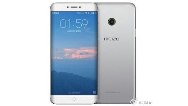 หลุดภาพเรนเดอร์ Meizu Pro 7 สมาร์ทโฟนจอโค้ง ใช้ปุ่ม Home แบบสัมผัส
