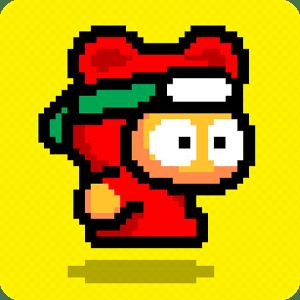 """มาเล่นกัน!! """"Ninja Spinki Challenges"""" นินจาโดดเด้ง เกมใหม่จากทีม Flappy Bird"""