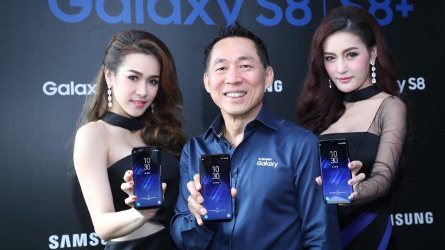Samsung เปิดตัว Galaxy S8 / S8+ ในไทย ขายจริง 5 พ.ค.