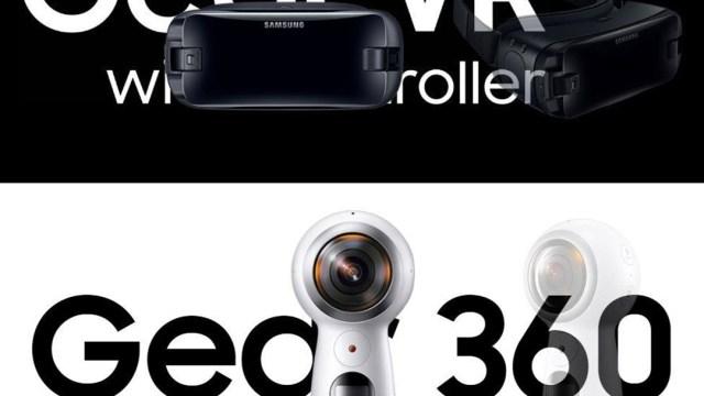 มาแล้ว! Samung Gear VR รุ่นใหม่ / Gear 360 (2017) พร้อมขายที่ TME 2017