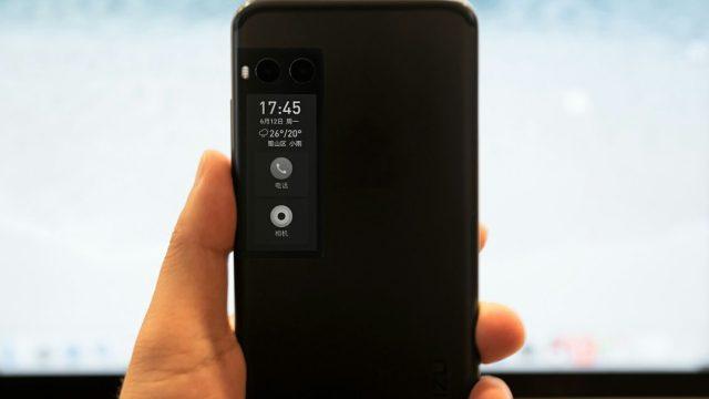 ภาพหลุดตัวเครื่อง Meizu Pro 7 ใช้กล้องคู่ มีจอ e-ink หลังเครื่อง