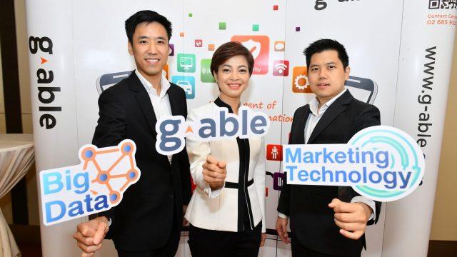 G-ABLE ต่อยอด Big Data เปิดตัวโซลูชั่น Marketing Technology หัวใจการตลาดยุคดิจิทัล