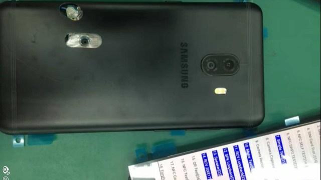 นี่อีกหนึ่ง ภาพเครื่องจริงล่าสุดของ Galaxy C10 สมาร์ทโฟนกล้องคู่อีกรุ่น