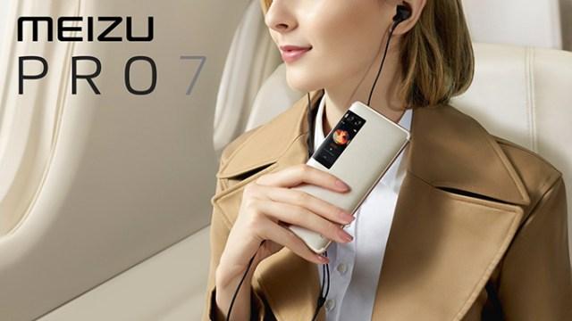 มาแล้ว!! เผยโฉม Meizu Pro 7 / Pro 7 Plus สมาร์ทโฟนจอคู่ กล้องคู่  ชิป Helio X30