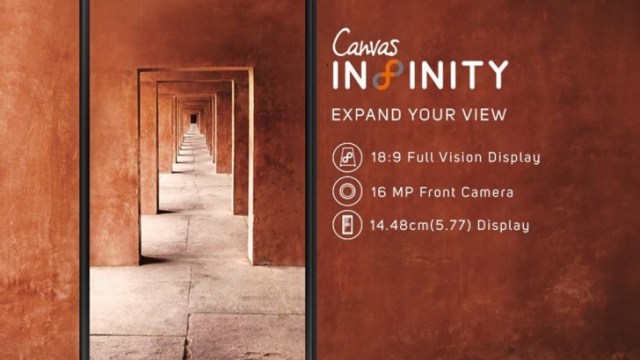 Micromax เปิดตัว Canvas Infinity สมาร์ทโฟนจอ Full Vision เคาะราคาแค่ 5,000 บาท