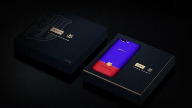 OPPO เผยโฉม R11 FC Barcelona Edition เปิดรับพรีออเดอร์แล้วในจีน